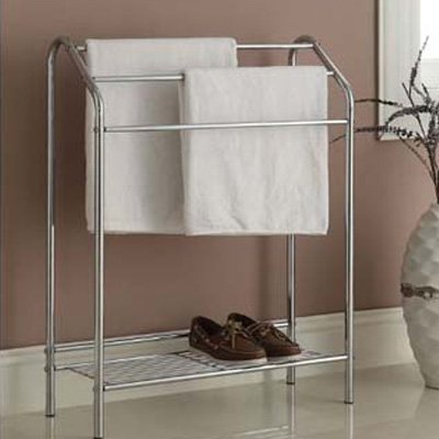4. EHomeProducts Towel Bathroom Rack Stand/Shelf