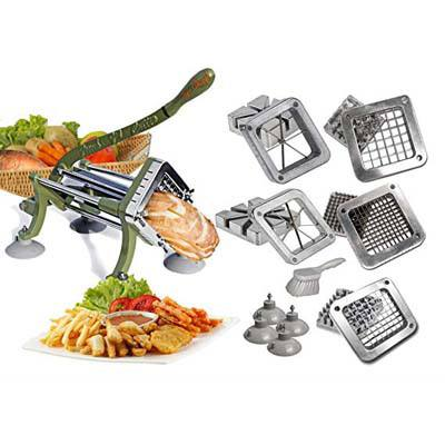 9. Tiger Chef Commercial Grade French fry Cutter