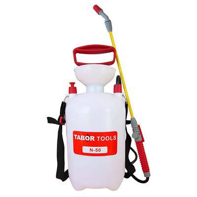 4. TABOR TOOLS N-50 Lawn and Garden Pump Pressure Sprayer
