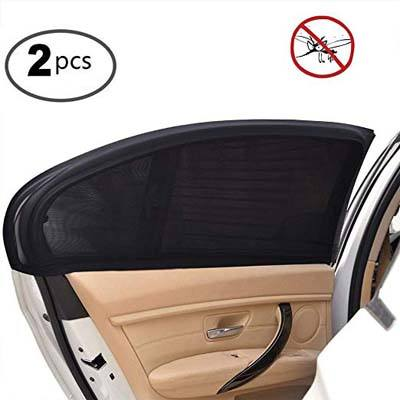 5. Uarter Universal Car Side Window Sun Shade (2 Pcs)