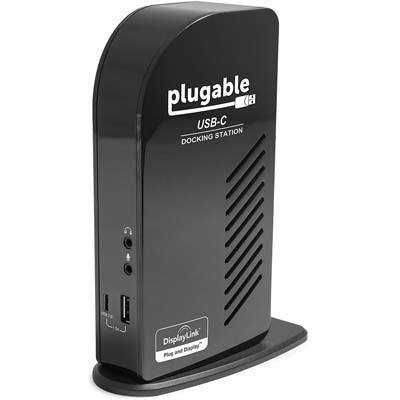 6. Plugable USB-C Triple Display Docking Station with Charging Support