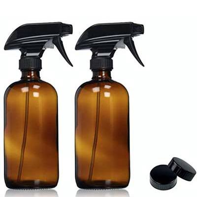 1. Sally's Organics Amber Glass Spray Bottles