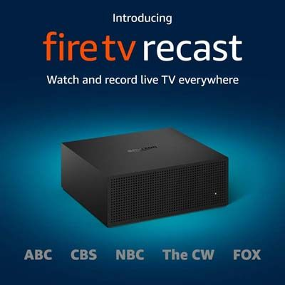 9. Amazon Fire TV Recast, over-the-air DVR, 500GB, 75 Hours