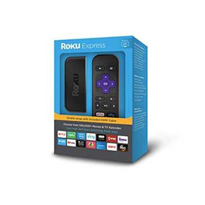 3. Roku Express HD Streaming Media Player
