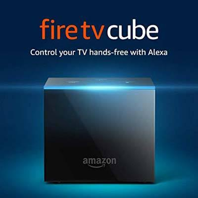 7. Amazon Fire TV Cube Streaming Media Player