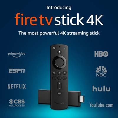 1. Amazon Fire TV Stick 4K with all-new Alexa Voice Remote