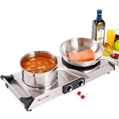 6. DUXTOP Portable Electric Cooktop Burner