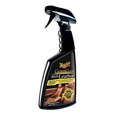 4. Meguiar's G10916 Gold Class Rich Leather Cleaner & Conditioner