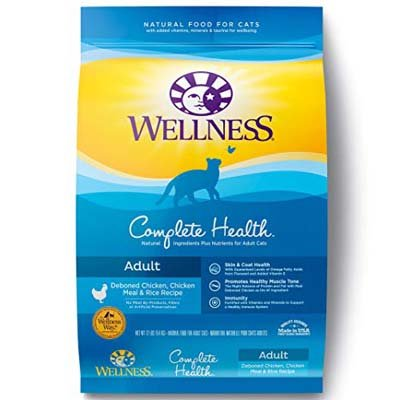 10. Wellness Complete Health Natural Dry Cat Food