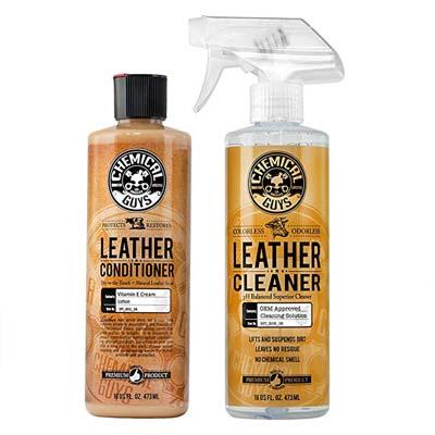 2. Chemical Guys Leather Cleaner and Conditioner