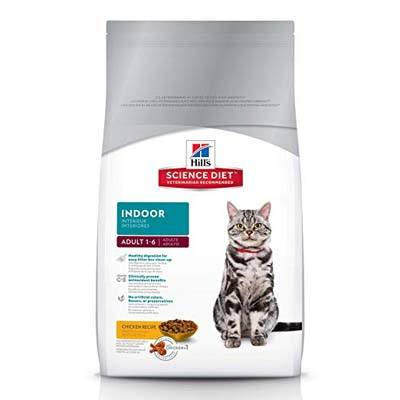 2. Hill's Science Diet Dry Cat Food