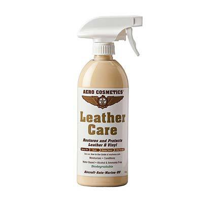 10. Aero Cosmetics Leather Care, Conditioner, Protectant