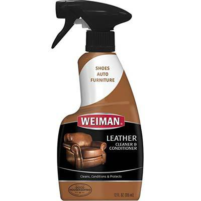 7. Weiman Leather Cleaner and Conditioner