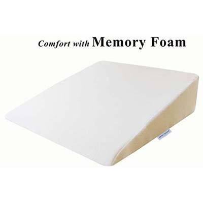 2. InteVision Foam Bed Wedge Pillow