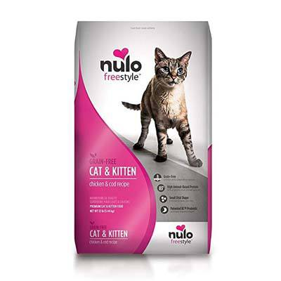 9. Nulo Adult and Kitten Grain Free Dry Cat Food
