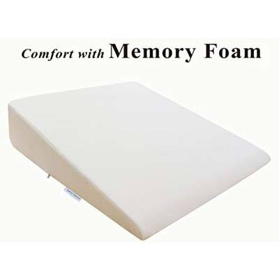 8. InteVision Extra Large Foam Bed Wedge Pillow