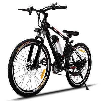1. ANCHEER Power Plus Electric Mountain Bike