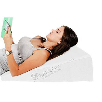 6. Relax Home Life Bed Wedge Pillow
