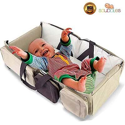 9. Scuddles 3-in-1 1 Travel Infant Bed