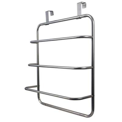 8. LDR Industries Over-the-Door Hand Towel Rack