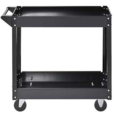 5. Muscle Rack Black Commercial Service Cart (SC3016)