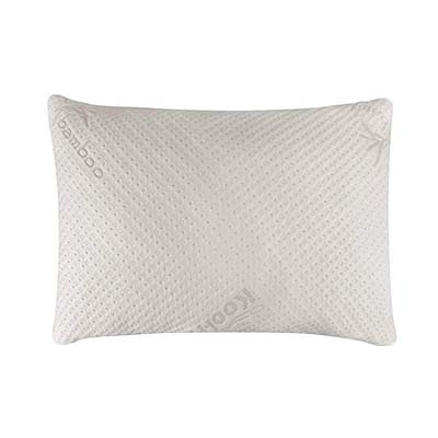 2. Snuggle-Pedic Memory Foam Pillow