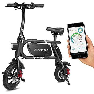 3. SwagCycle Pro Folding Electric Bike