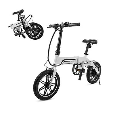 4. Swagtron SwagCycle EB-5 Pro Electric Bike