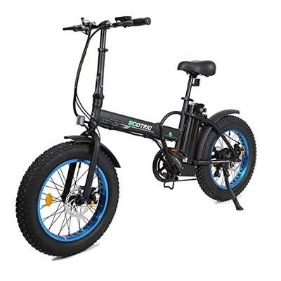 7. ECOTRIC New Fat Tire Folding Electric Bike