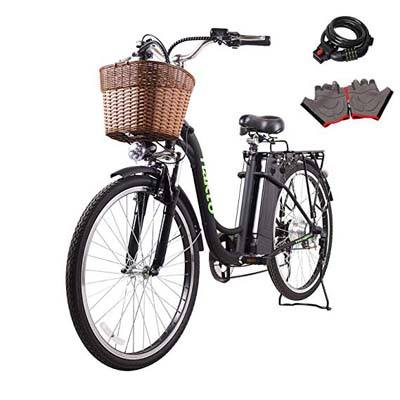 2. NAKTO Electric Bicycle