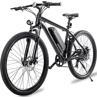 9. Merax Electric Mountain Bike