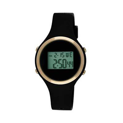 6. Moulin Ladies Digital Jelly Watch Black #03158-76628