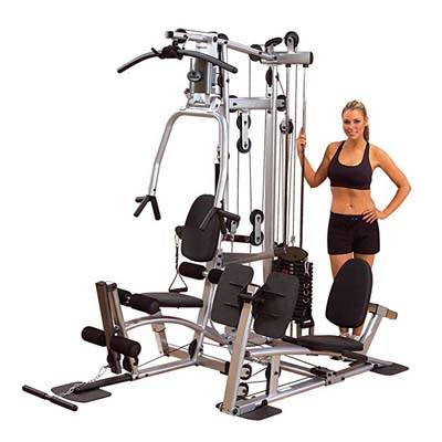 3. Body-Solid Powerline Home Gym with Leg Press (P2LPX)