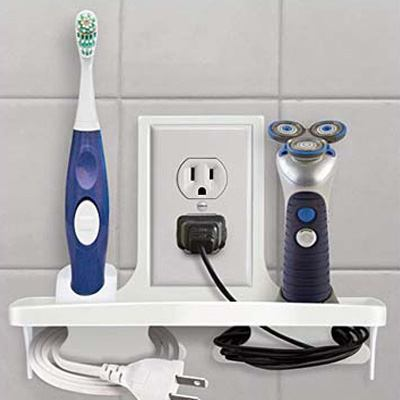 5. IdeaWorks Wall Outlet Organizer