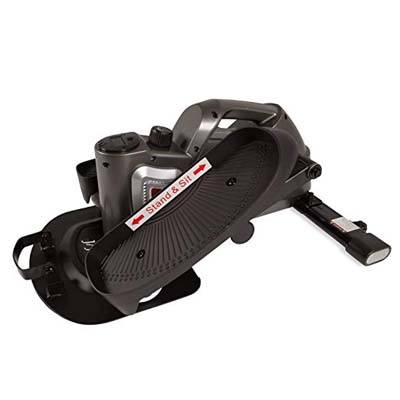 6. jfit Under Desk and Stand Up Mini Elliptical