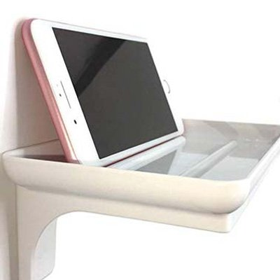 4. McLee Creations Small Plastic Bathroom Shelf
