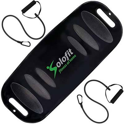 3. Solofit Balance Fit Board with Resistance Bands