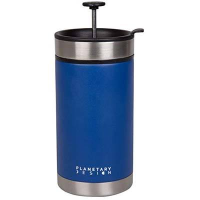 8. Planetary Design Steel Toe French Press Coffee