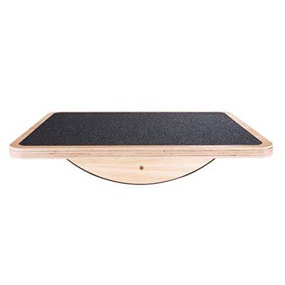 2. StrongTek Professional Wooden Balance Board