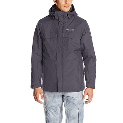 2. Columbia Sportswear Men's Bugaboo Jacket with Detachable Storm Hood