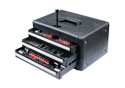 9. GreatNeck GN205 Home Tool Chest Set (205-Piece)