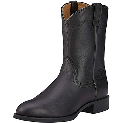 3. Ariat Men's Heritage Roper Western Cowboy Boot
