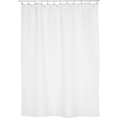 2. Carnation Home Fashions Extra Long Shower Curtain Liner