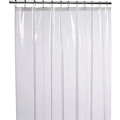 11. LiBa PEVA 8G Shower Curtain Liner