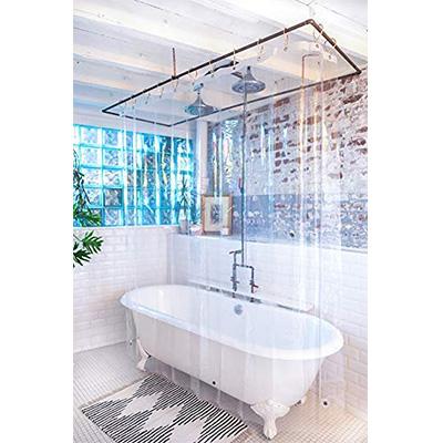 3. Kent & West – PEVA Shower Curtain Liner