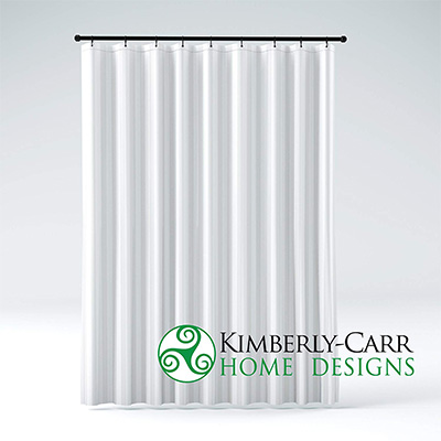 8. Kimberly-Carl Home Designs THE SHOWER CURTAIN LINER