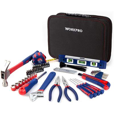8. Workpro 100-Piece Kitchen Drawer Home Tool Kit