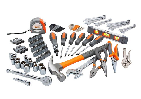 15. HDX 137PC HOMEOWNERS TOOL SET H137HOS