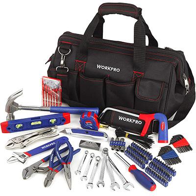 11. WORKPRO 156-Piece Home Repair Tool