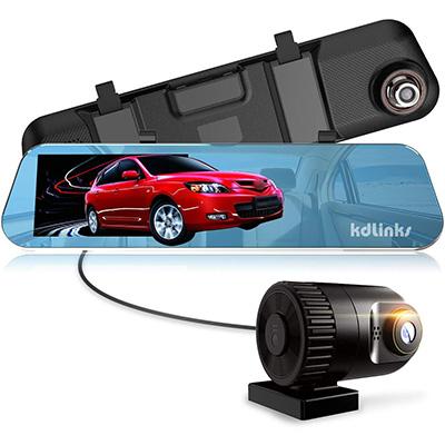 8. KDLINKS R100 Ultra HD Wide Angle Dash Cam